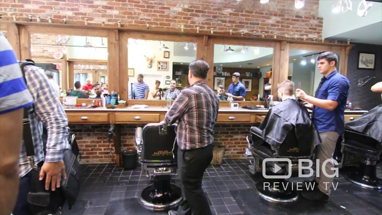 Made Man Barber Shop In New York Ny Offering Mens Hairstyles And