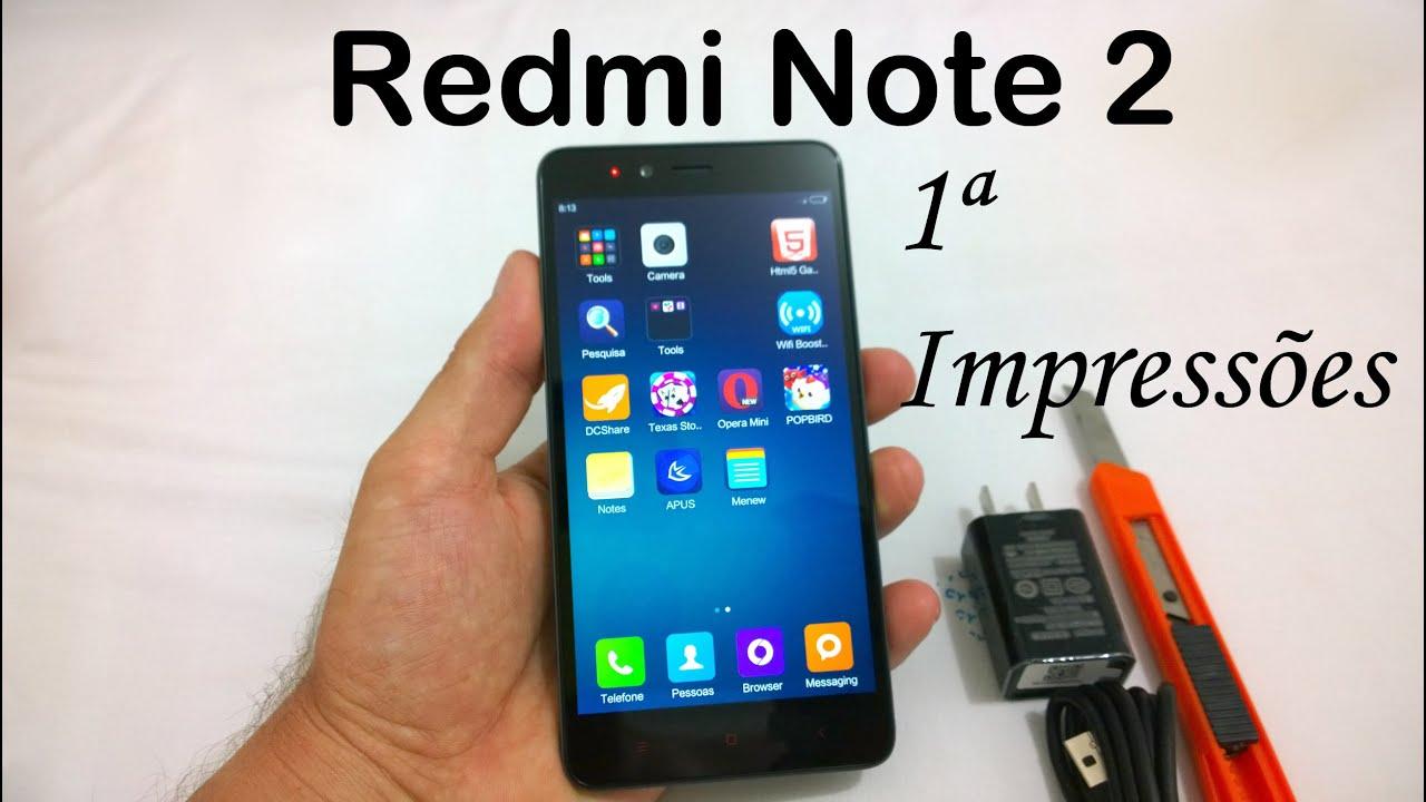 Unboxing E Primeiras Impressões Do Xiaomi Redmi Note 4: Unboxing E Primeiras Impressões