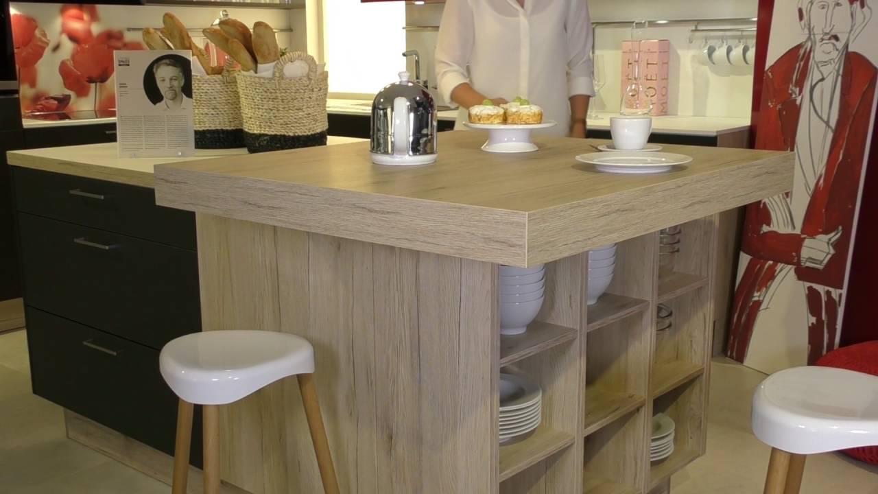 Küchen Rödinghausen häcker küchen produktvideo diagonal verschiebbare pultplatte