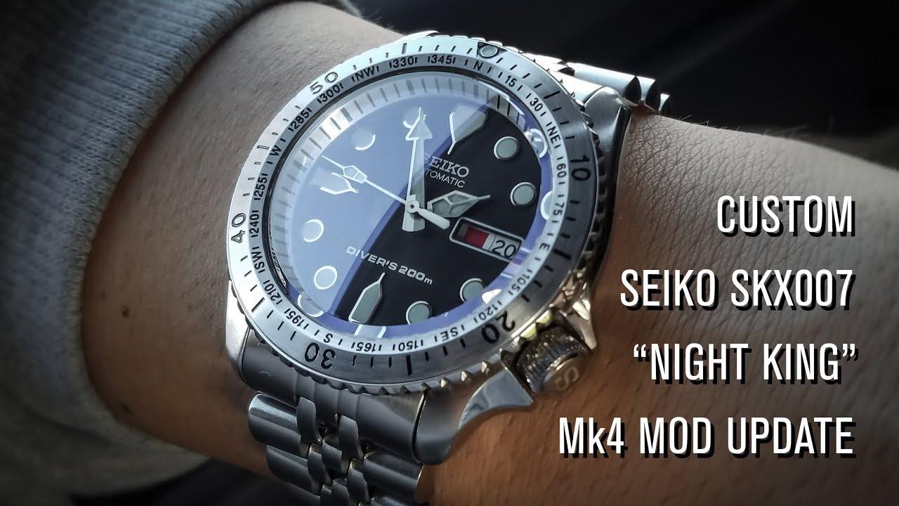 Custom SKX007 Night King Mk4 Mod Update