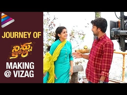NINNU KORI Movie Making Journey At Vizag | #NinnuKori FUN ON SETS | Nani | Nivetha Thomas | Aadhi