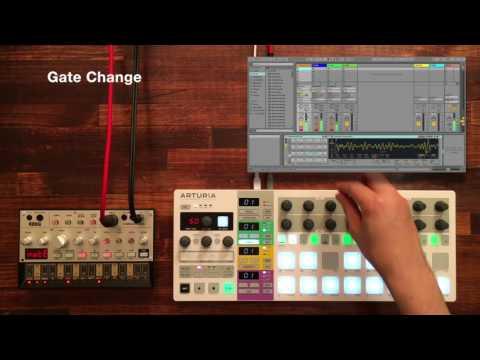 Arturia BeatStep Pro #2 | Create Bass with KORG volca bass