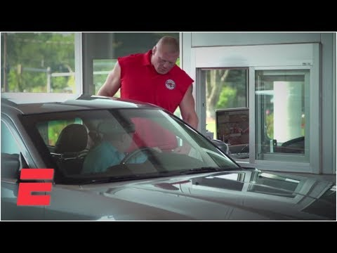 Brock Lesnar's Day As An ESPN Security Guard | ESPN
