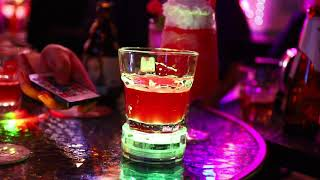 GFLAI Light Up Coaster Bottle Glorifer for Drinks Nightclub Bar Party Accessories