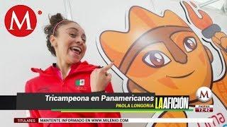 Paola Longoria da a México el oro 23 de Lima 2019