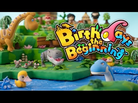 Birthdays the Beginning - Building Life! - Our First Creature! - Birthdays The Beginning Gameplay #1