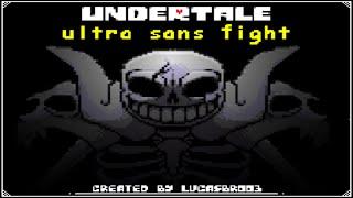Undertale - Ultra Sąns Fight   UNDERTALE Fangame   LucasBr003's Take