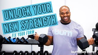 Fix Your Form   LIGHT vs. HEAVY Weights   When to Increase Your Weights at the Gym