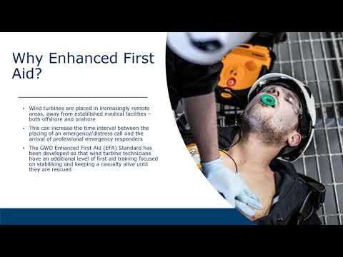 An Introduction To The GWO Enhanced First Aid EFA Training Standard Online Video Cu