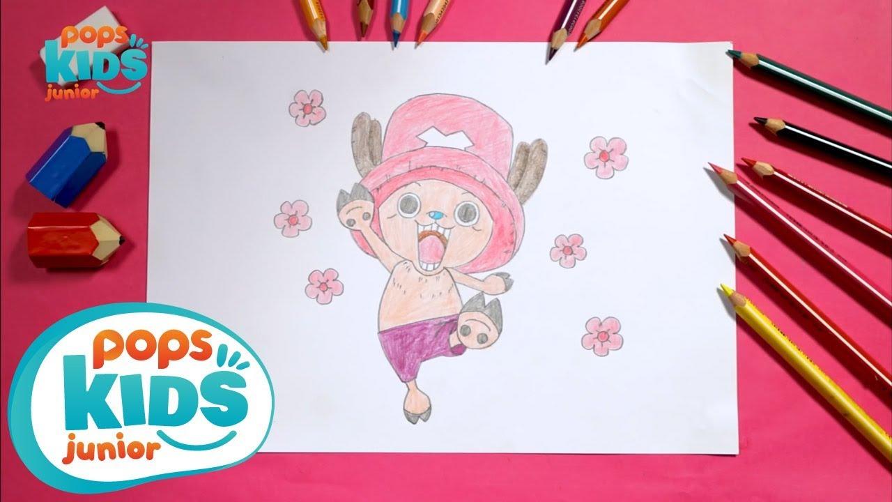 Hướng Dẫn Vẽ Chopper Phim One Piece – Siêu Nhân Bút Chì Tập 25 – How To Draw Chopper