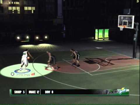 NBA 2K11 Snoop Dogg got game.