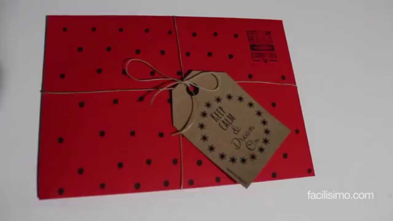 Como Decorar Una Carta Cómo Decorar Un Sobre Para Regalo Facilisimo