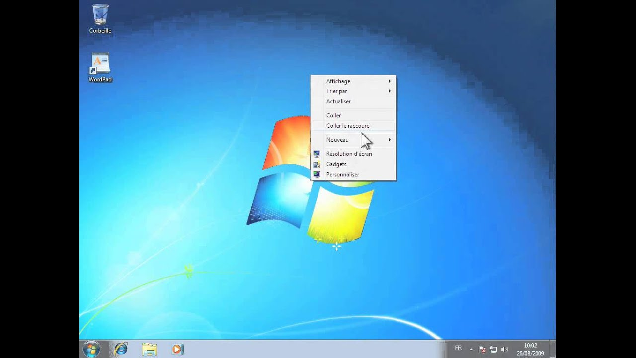 Windows 7 bureau ajouter ou supprimer des gadgets for Windows 7 bureau vide