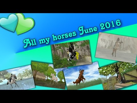 [SSO] - All my horses June 2016 (1.529 Abo Special!)