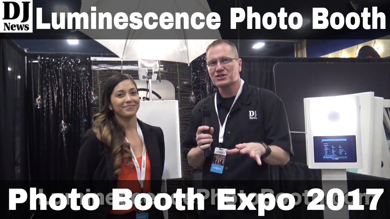 Luminescence Photo Booth Portable System | Photo Booth Expo 2017 | Disc  Jockey News