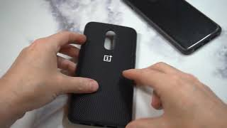 Official OnePlus 6T Bumper Case Nylon Unboxing and Review