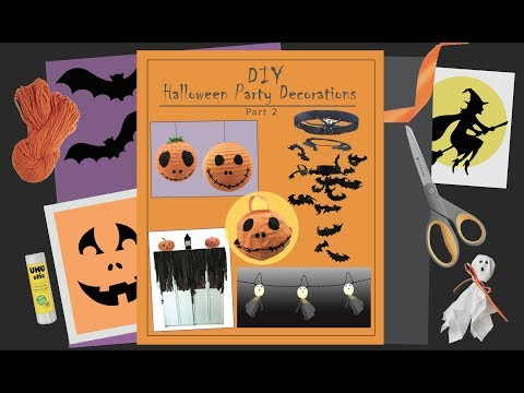 DIY Halloween Decoration Crafts - Easy & Fun