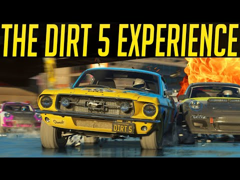 The DiRT 5 Multiplayer Experience