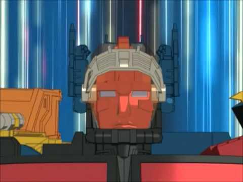 Transformers Energon Optimus Prime with Omega Supreme Ulimate