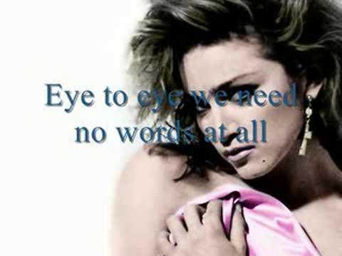 Madonna Crazy For You Lyrics Youtube