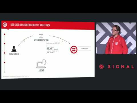 SIGNAL London 2016 - Building a Twilio-Powered Contact Centre