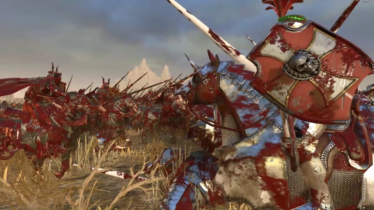 Download Knights of the Black Grail VS Knights of Sigmar Blood - Mod - Total War: Warhammer 2