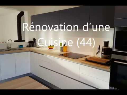activ travaux saint s bastien sur loire 44230 r novation d 39 une cuisine youtube. Black Bedroom Furniture Sets. Home Design Ideas