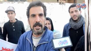أخبار اليوم | وقفة إحتجاجية لأهالى المقطم لإعادة رئيس الحى الاسبق