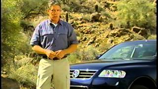 2004 VW Touareg Owner's VHS: Driving your Touareg