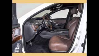 Designo Diamond White Metallic 2015 Mercedes-Benz S550 4.7L V8 32V GDI DOHC Twin Turbo - 7-Speed Aut