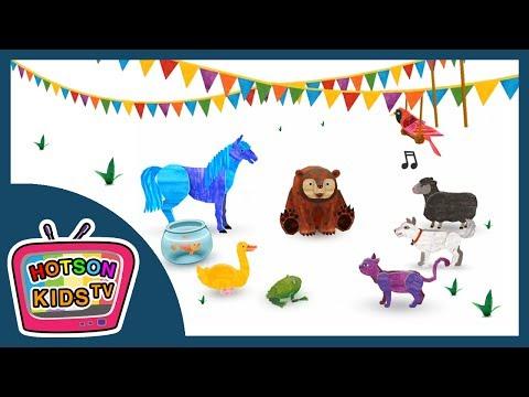 브라운베어 동물 퍼레이드  곰   Eric Carle's Brown Bear Animal Parade - Best App For Kids