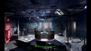 Fallout 4. Ключ от сейфа Корвеги . Сейф на заводе Корвега.