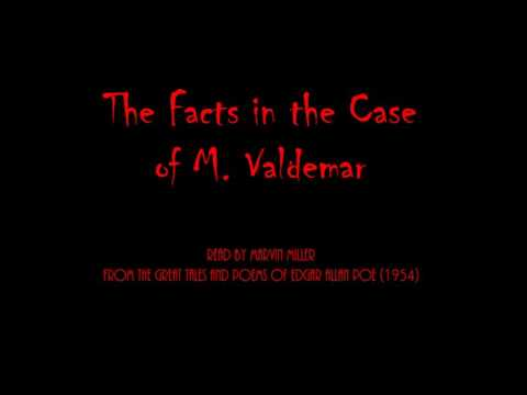 The Facts in the Case of M. Valdemar (read by Marvin Miller, 1954)