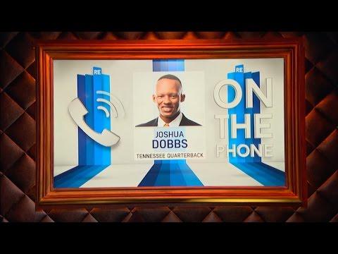 University of Tennessee QB Joshua Dobbs Talks NFL Draft & More - 3/8/17