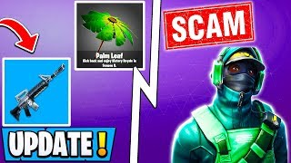 "*NEW* Fortnite Update! | 8.01 Changes & Weapon, $300 Skin Scam, ""Turtle Temple""!"