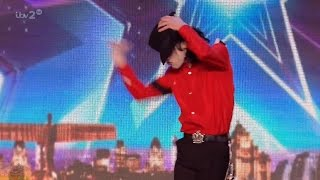 Britain's Got More Talent 2016 S10E02 Rory 'Michael' Jackson Dance Tribute Full Audition