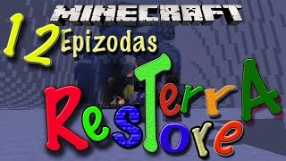 Minecraft: Terra Restore Lietuviškai. EP12 | Nalu Tropinės Salos + Map download