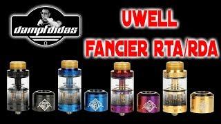 Uwell Fancier 😍 😍 RTA / RDA All in One Geschmack Pur! Review