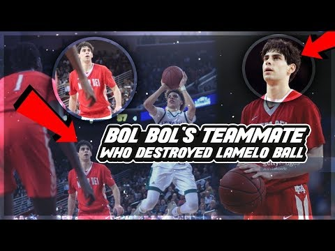 BOL BOL's Teammate Who DESTROYED Chino Hills & LAMELO BALL! Mater Dei STAR & Future U.S. President!?