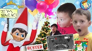 ELF ON THE SHELF RETURNS! CAUGHT MOVING! Who Buys Diseased Christmas Tree FUNnel Vision Buddy