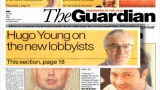 Cover-up at The Guardian 25: Lord Lester's + Hugo Young's telling shyness