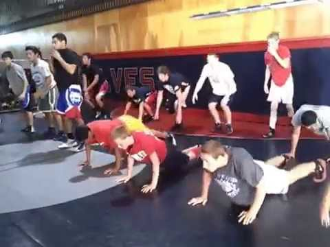 Wrestling Conditioning Workout