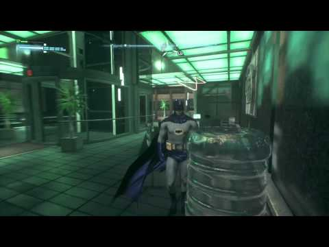 Inside Lexcorp building in Batman Arkham Knight PS4