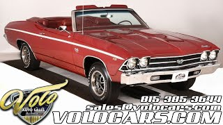 1969 Chevrolet Chevelle SS 396 for sale at Volo Auto Museum (V18615)
