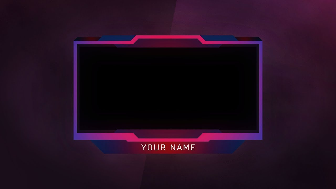 new face cam youtube twitch overlay 2018 face cam overlay