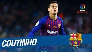 Philippe coutinho best goals & skills laliga santander 2017/2018