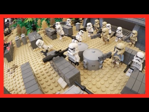 Thumbnail: Lego Star Wars Scarif Beach Battle Moc