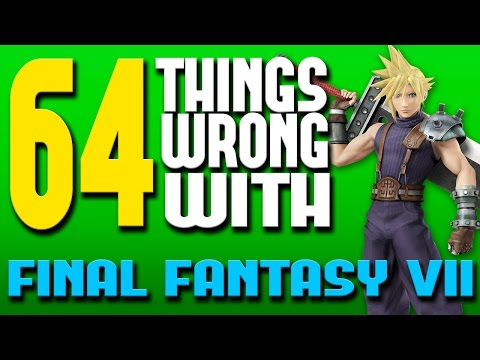 64 Things WRONG With Final Fantasy VII (PARODY)