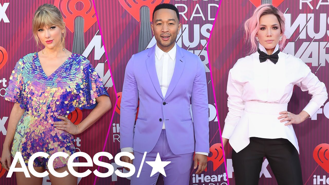iHeartRadio Music Awards 2019: Top Red Carpet Looks From Taylor Swift, John  Legend & More | Access