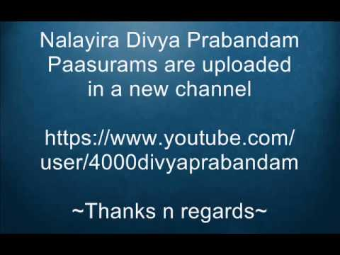 New Channel for 4000 Divya Prabandam